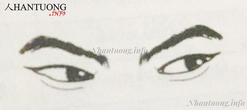 Kiểu mắt liếc xéo tiểu nhân