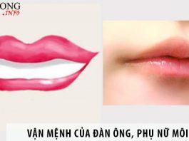 Tính cách, vận mệnh của đàn ông, phụ nữ có tướng môi nhọn