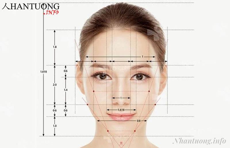 Cách xác định tỷ lệ khuôn mặt