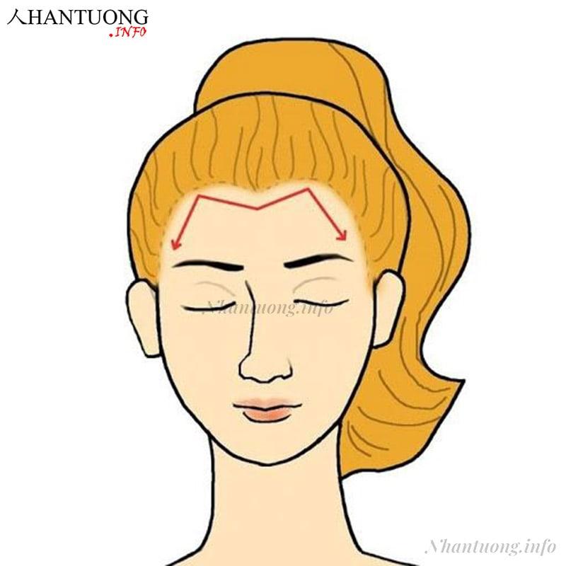 Phụ nữ có đường chân tóc hình chữ M là người có năng khiếu nghệ thuật