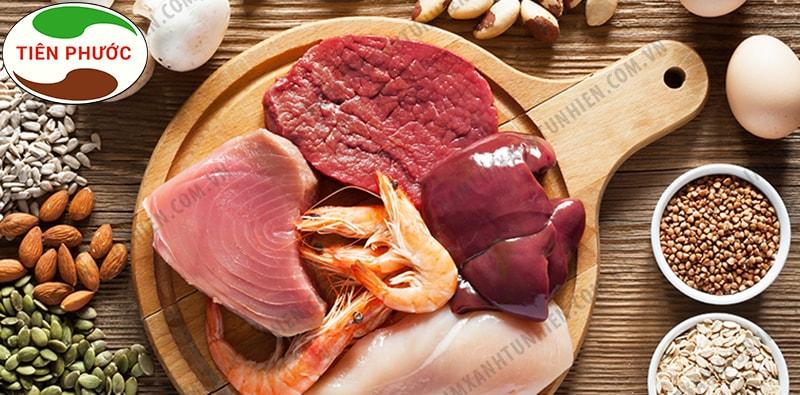Những thực phẩm có chứa nhiều Nucleotide